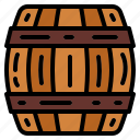 alcohol, barrel, beer, cask icon