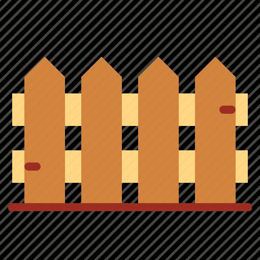 fence, garden, limit, yard icon