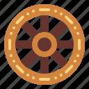 car, tire, wheel, wood icon