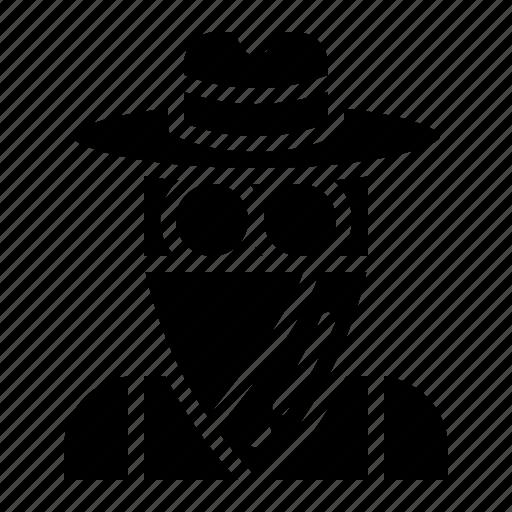 avatar, cowboy, people, profile icon