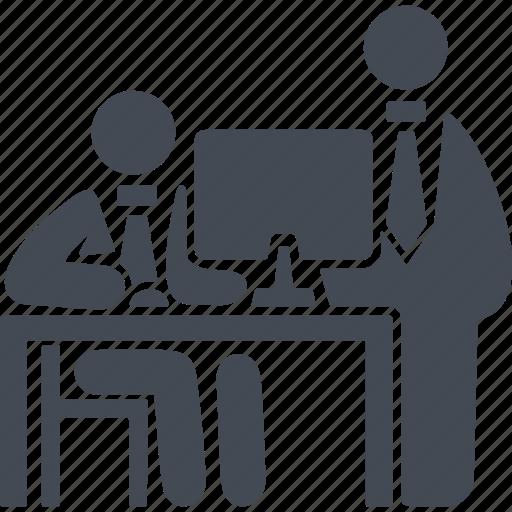 business, conversation, coworking, management icon