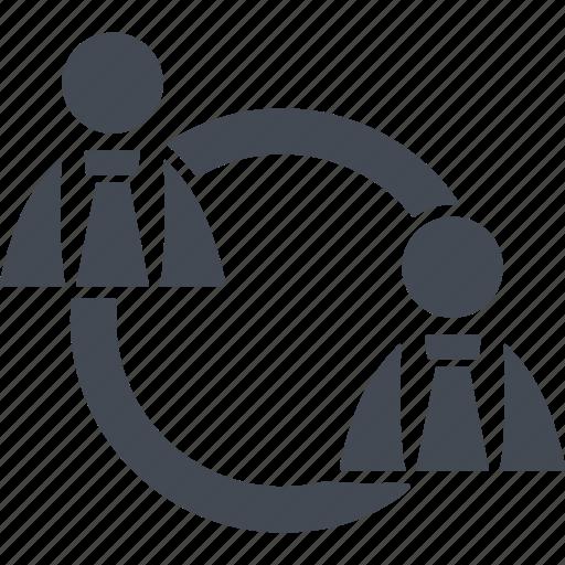 agreement, conversation, coworking, talk icon