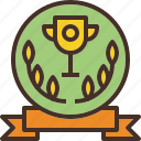 award, label, logo, premium, wreath icon