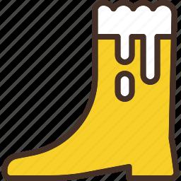 beer, boot, glass, mug icon