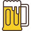 alcohol, beer, drink, glass, mug icon