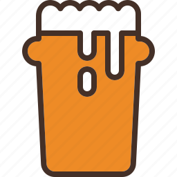 alcohol, beer, drink, glass, pint icon