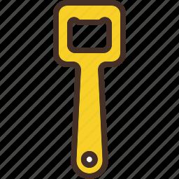 aid, bottle, kitchen, opener, tool icon
