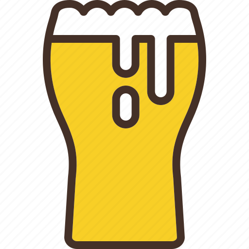 beer, craft, glass, large, pint icon