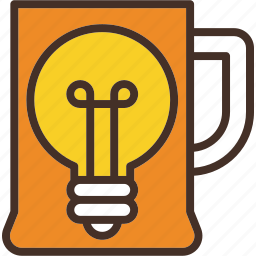 bulb, creativity, idea, light, misc icon