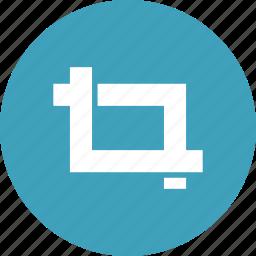 crop, edit, modify, scale, tool, transform icon