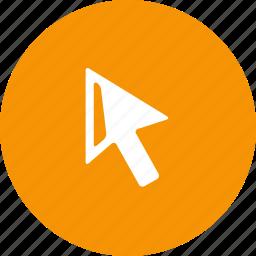 arrow, clicker, cursor, mouse, pointer, select icon