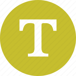 capital, font, format, text, type icon
