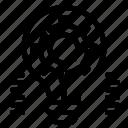 blub, gear, setting icon