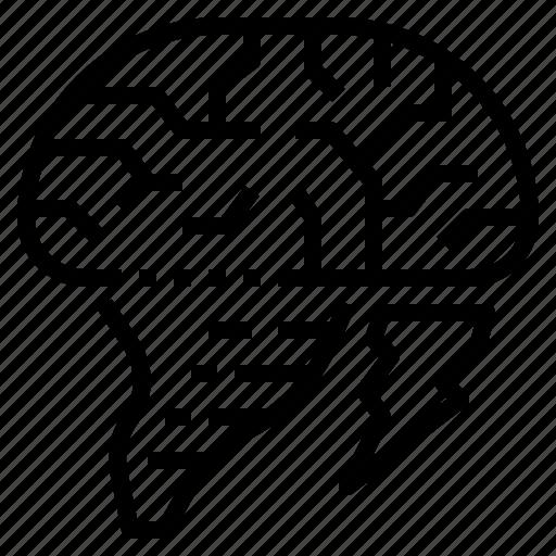 brainstorm, idea, strategy, think icon
