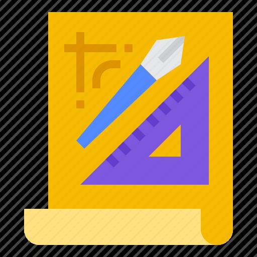 computer, design, digital, tool icon