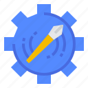 edit, graphic, pen, tools icon
