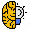 brain, idea, intelligence, neurology icon