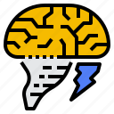 brainstorm, idea, strategy, think icon