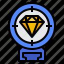 eye, focus, view, vision icon