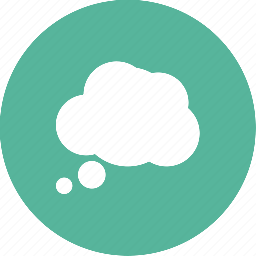 bubble, chat, cloud, idea, opinion, thinking, thought icon