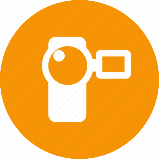 cam, camcorder, camera, movie, record, video icon
