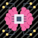 artificial intelligence, brain, mind, processor