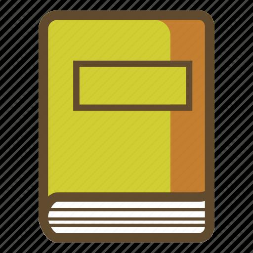 book, diary, notebook, write, writer icon