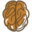brain, brainstorming, mind, think icon