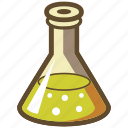 beaker, chemistry, experiment, lab, science, test icon