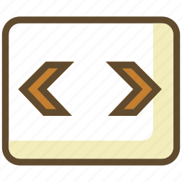 code, coding, page, prgramming icon