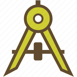 compass, design, desinger icon