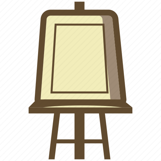 art, artist, board, canvas, easel icon