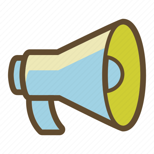advertising, loudspeaker, marketing, megaphone, sound icon