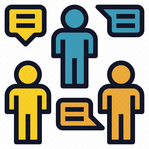 discussion, group, solution, team, teamwork icon