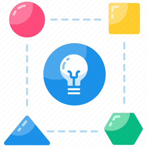 analytics, connection, creative, data, data connection, idea, networking icon
