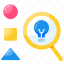 analytic, analyze, creativity, explore, idea, solution, strategy icon