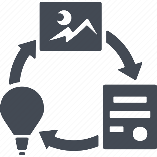 bulb, creative process, electric, energy, idea icon