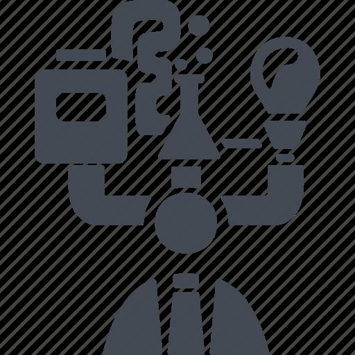 creative process, human, inspiration, profile, user icon