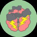 brain storm, cloud, thunder