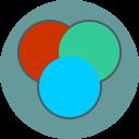 color balance, design, idea icon