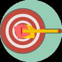 define the goal, mission, target