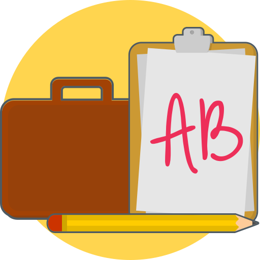 bag, paper, portofolio icon