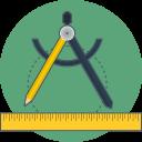 precision, ruler, sketch