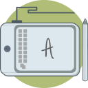 computer, drawing pad, prototyping, tools icon