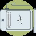 computer, drawing pad, prototyping, tools