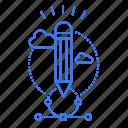 draw, education, geometry, pencil icon