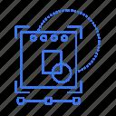 focus, target, web, website icon