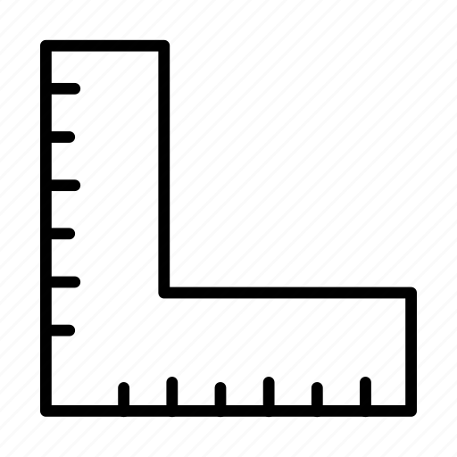 creative, design, measure, process, ruler icon