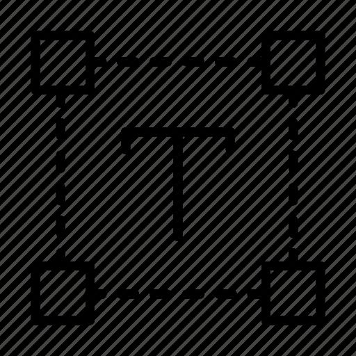 creative, design, font, process, text icon