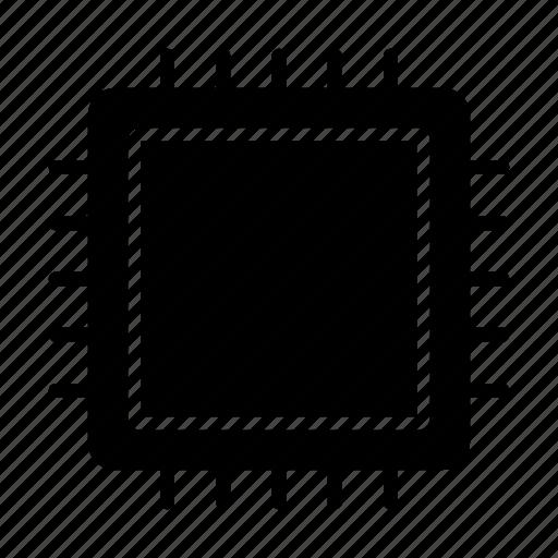 chip, cpu, gpu, processor, technology icon